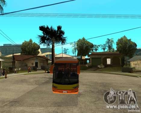 Stadt malaysischen Schnellbus für GTA San Andreas Rückansicht