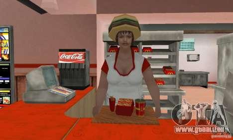Restaurants McDonals für GTA San Andreas siebten Screenshot