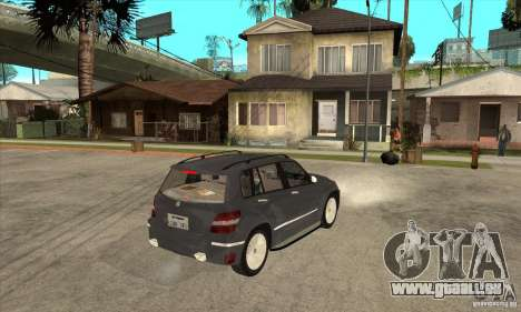 Mercedes Benz GLK300 für GTA San Andreas rechten Ansicht