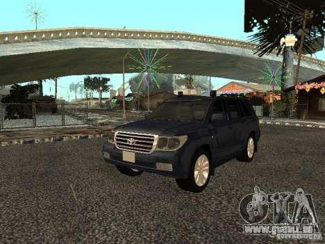 Toyota Land Cruiser 200 für GTA San Andreas linke Ansicht