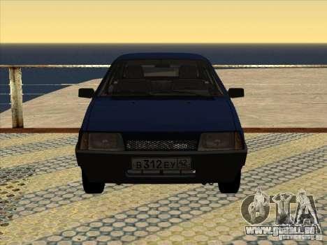 Vaz 2109 Drain V2 pour GTA San Andreas