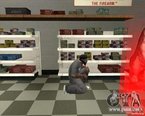 New Ammunation pour GTA San Andreas troisième écran