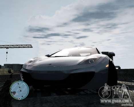 McLaren MP4-12C [EPM] 2011 pour GTA 4 Vue arrière