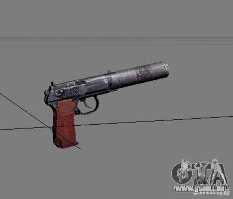 Une série d'armes de stalker V2 pour GTA San Andreas septième écran