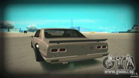 Nissan Skyline 2000GT-R JDM Style pour GTA San Andreas vue de côté
