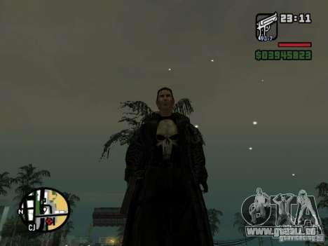 Le Punisher pour GTA San Andreas deuxième écran