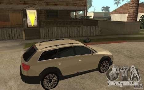 Audi Allroad Quattro pour GTA San Andreas vue de droite