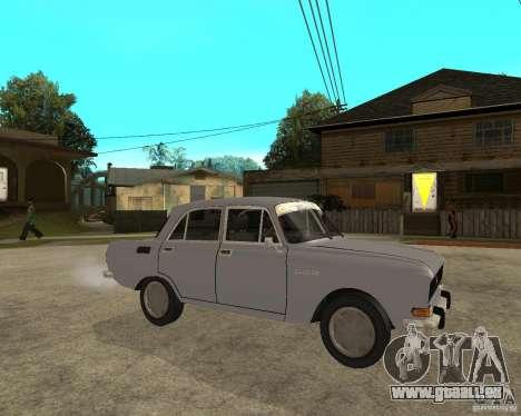 Moskvitch AZLK 2140- pour GTA San Andreas vue de droite