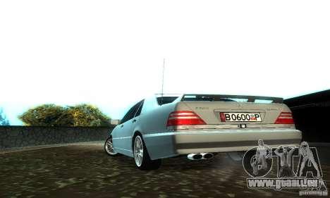 Mercedes-Benz S600 AMG für GTA San Andreas rechten Ansicht