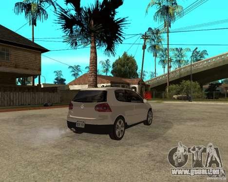 Volkswagen Golf V GTI für GTA San Andreas