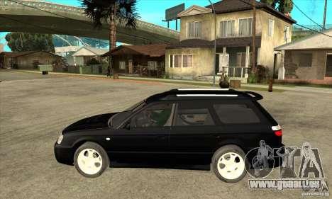 Subaru Legacy Station Wagon pour GTA San Andreas laissé vue