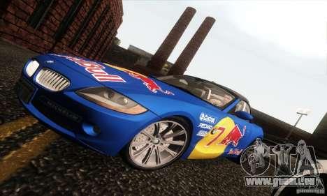 BMW Z4 pour GTA San Andreas salon