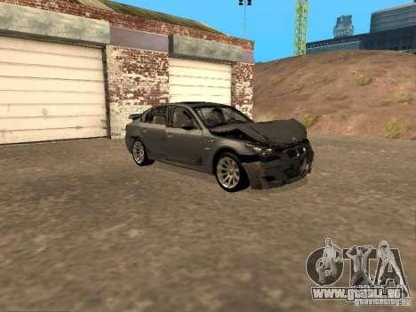 BMW M5 E60 2009 v2 pour GTA San Andreas roue