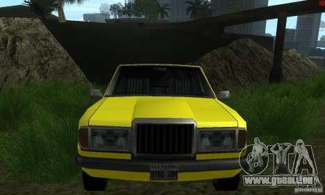 Neue Texturen für auto für GTA San Andreas