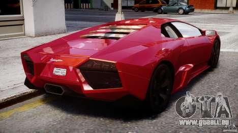 Lamborghini Reventon Final für GTA 4 obere Ansicht