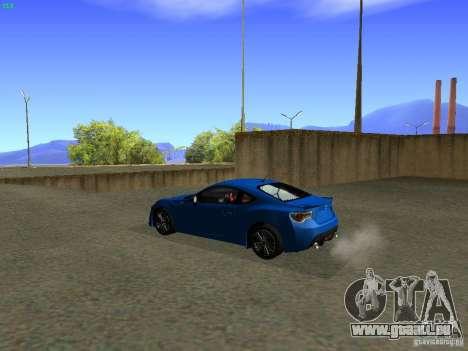 Toyota GT86 Limited pour GTA San Andreas laissé vue