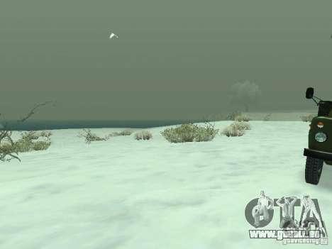 Frozen bone country für GTA San Andreas fünften Screenshot