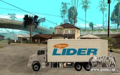 Camiun Hiper Lider pour GTA San Andreas laissé vue