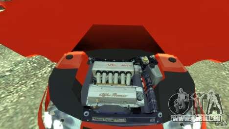 Alfa Romeo GTV Spider pour GTA 4 Vue arrière