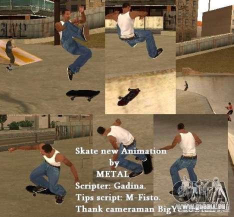 Skate für GTA SA für GTA San Andreas