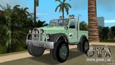 Aro M461 Offroad Tuning pour GTA Vice City