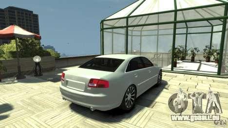 Audi A8 4.2 QUATTRO beta für GTA 4 hinten links Ansicht