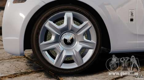 Rolls-Royce Ghost 2012 pour GTA 4 est un côté
