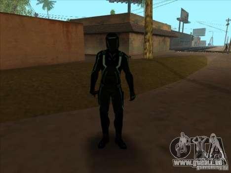 Eine Figur aus dem Spiel Tron: Evolution für GTA San Andreas fünften Screenshot