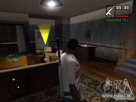 Le joueur regarde chaque fois que vous voyez pour GTA San Andreas