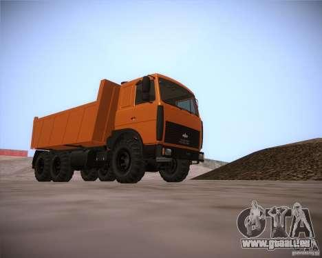 6317 MAZ pour GTA San Andreas
