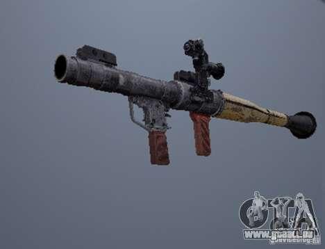 Eine Reihe von Waffen aus einem stalker für GTA San Andreas her Screenshot