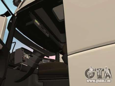 Scania R700 Euro 6 für GTA San Andreas Innenansicht