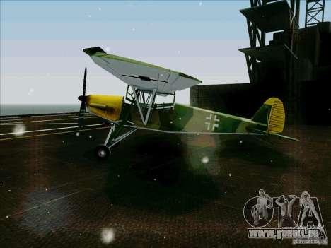 Fi-156 pour GTA San Andreas laissé vue
