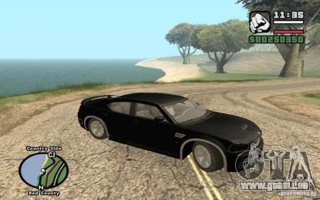 Dodge Charger SRT8 für GTA San Andreas Rückansicht