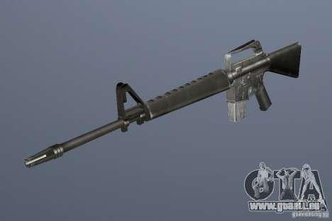 M16A1 GTA Vice City pour la troisième écran