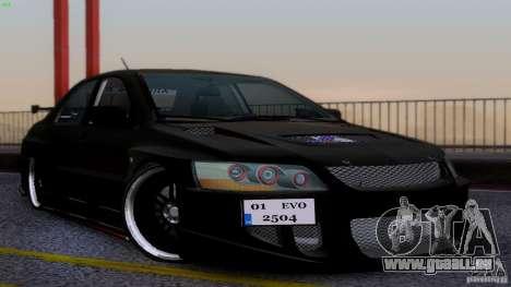 Mitsubishi Lancer Evolution 8 Drift pour GTA San Andreas
