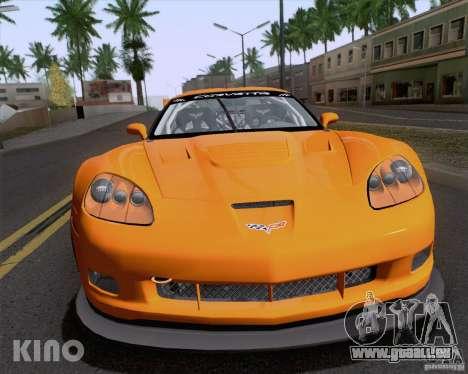 Chevrolet Corvette C6 Z06R GT3 v1.0.1 pour GTA San Andreas vue de côté