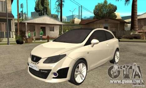 Seat Ibiza Cupra 2009 für GTA San Andreas