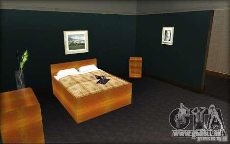 Nouvelles textures pour la maison Džonsonov pour GTA San Andreas troisième écran