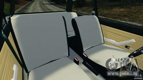 Chevrolet Chevette 1976 pour GTA 4 est une vue de l'intérieur