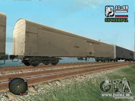 Wagon frigorifique Dessau pour GTA San Andreas