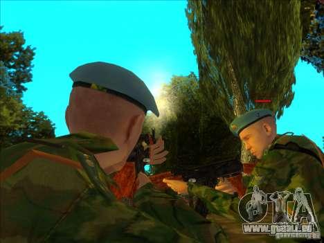 Les troupes aéroportées ! pour GTA San Andreas deuxième écran