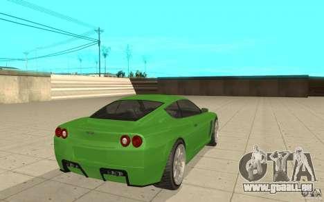 Super GT von GTA 4 für GTA San Andreas zurück linke Ansicht