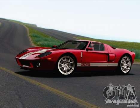 Ford GT 2005 pour GTA San Andreas vue arrière