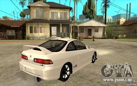 Honda Integra Spoon Version pour GTA San Andreas vue de droite