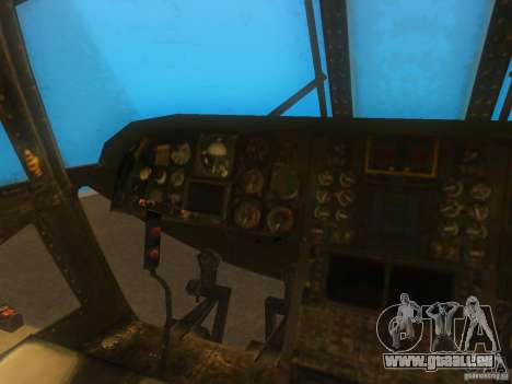 CH46 für GTA San Andreas Rückansicht