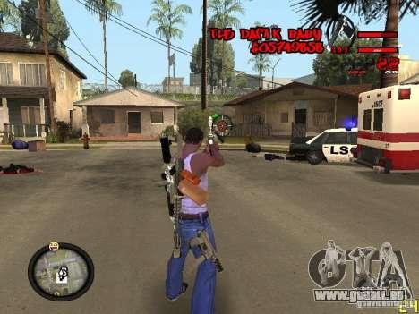 Hud by Dam1k pour GTA San Andreas troisième écran