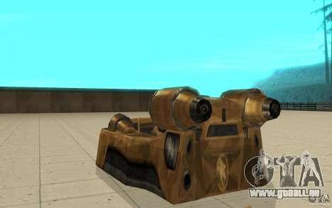 Der Strudel das Spiel Command and Conquer Renega für GTA San Andreas zurück linke Ansicht