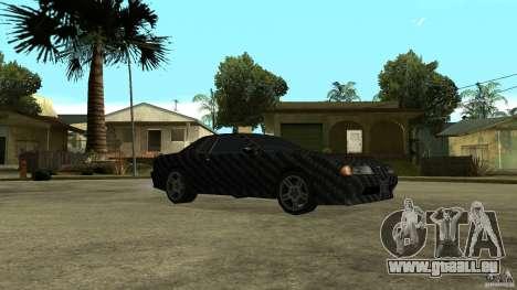 Elegy Carbon Style V 1.00 pour GTA San Andreas vue de droite