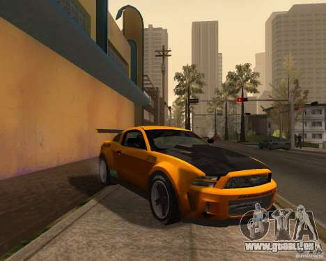 Ford Mustang GT-R 2010 pour GTA San Andreas
